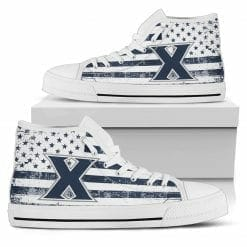 NCAA Xavier Musketeers High Top Shoes