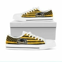 NCAA Wisconsin-Milwaukee Panthers Low Top Shoes