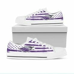 NCAA Wisconsin-Whitewater Warhawks Low Top Shoes