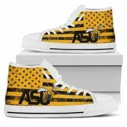 NCAA Alabama State Hornets High Top Shoes