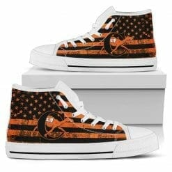 NCAA Campbell Fighting Camels High Top Shoes