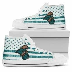 NCAA Coastal Carolina Chanticleers High Top Shoes