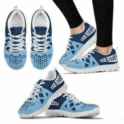 NCAA North Carolina Tar Heels Running Shoes V6