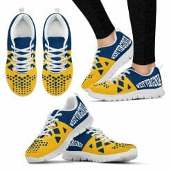 NCAA West Virginia Mountaineers Running Shoes V5