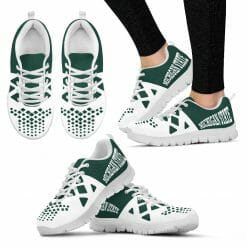 NCAA Michigan State Spartans Running Shoes V5