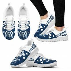 NCAA Utah State Aggies Running Shoes V5