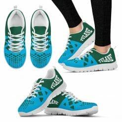 NCAA Tulane Green Wave Running Shoes V5