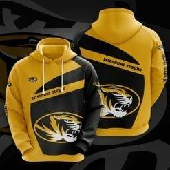 NCAA Missouri Tigers 3D Hoodie V1