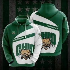NCAA Ohio Bobcats 3D Hoodie V1