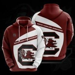 NCAA South Carolina Gamecocks 3D Hoodie V1