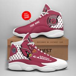 NFL Arizona Cardinals Air Jordan 13 Shoes Personalized V2