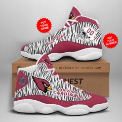NFL Arizona Cardinals Air Jordan 13 Shoes Personalized V3