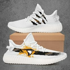 NCAA Anderson Ravens Yeezy Boost White Sneakers V1