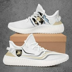 NCAA Army Black Knights Yeezy Boost White Sneakers V3
