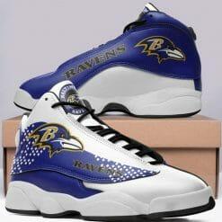 NFL Baltimore Ravens JD13 Sneakers