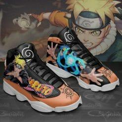 Naruto Anime Naruto Uzumaki Air Jordan 13 Shoes V1