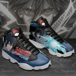 Naruto Anime Sasuke Uchiha Air Jordan 13 Shoes V1