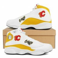 NHL Calgary Flames Air Jordan 13 Shoes V2