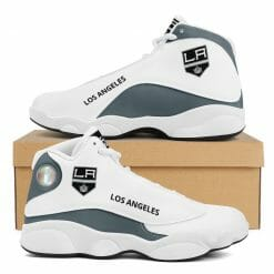 NHL Los Angeles Kings Air Jordan 13 Shoes V2