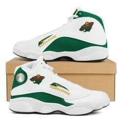 NHL Minnesota Wild Air Jordan 13 Shoes V2