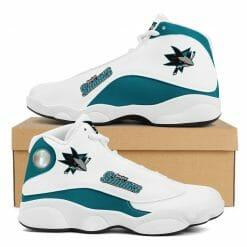 NHL San Jose Sharks Air Jordan 13 Shoes V2
