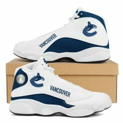 NHL Vancouver Canucks Air Jordan 13 Shoes V2