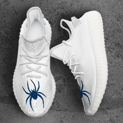 NCAA Richmond Spiders Yeezy Boost White Sneakers V4