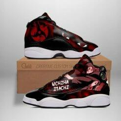 Naruto Anime Itachi Uchiha Air Jordan 13 Shoes V4
