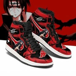 Naruto Anime Itachi Uchiha Air Jordan 1 Shoes V2