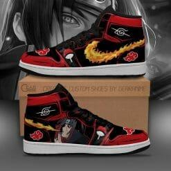 Naruto Anime Itachi Uchiha Air Jordan 1 Shoes V11