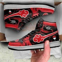 Naruto Anime Itachi Uchiha Air Jordan 1 Shoes V7