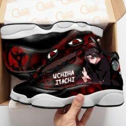 Naruto Anime Itachi Uchiha Air Jordan 13 Shoes V5
