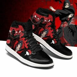 Naruto Anime Itachi Uchiha Air Jordan 1 Shoes V1