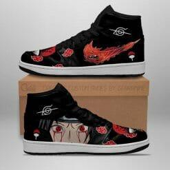 Naruto Anime Itachi Uchiha Air Jordan 1 Shoes V5