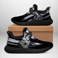 Naruto Anime Kakashi Hatake Reze Black Sneakers V2