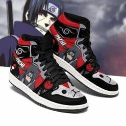 Naruto Anime Itachi Uchiha Air Jordan 1 Shoes V4
